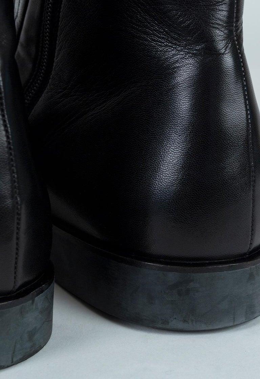 Men's Bruno Magli Raspino Leather Chelsea Boot, 21st Century For Sale 4