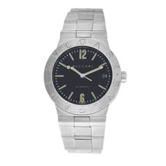 Men's Bvlgari Bulgari Diagono LC35S Steel Date Automatic Watch