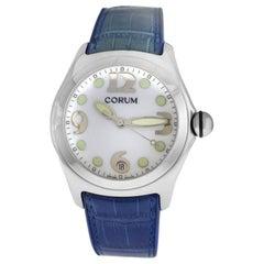 Men's Corum Bubble 163.150.20 0F02 Stainless Steel Date Quartz Watch