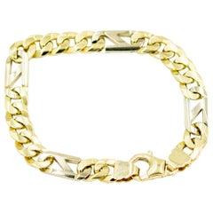 Men's Curb Link Gold Bracelet