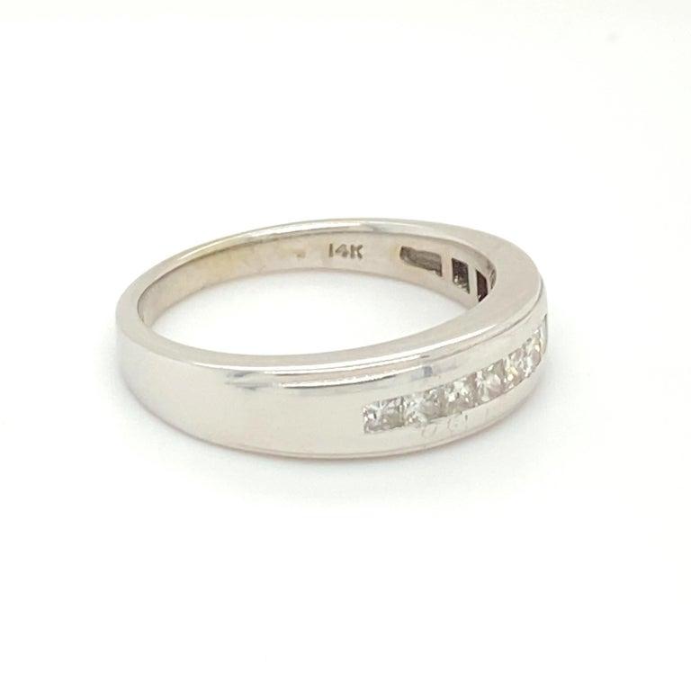Princess Cut Mens Diamond Ring For Sale