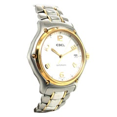 Men's Ebel 1911 Two Tone Wave Watch Ref. 1080241