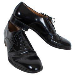 Men's Ferragamo Cap Toe Oxford Opera Pumps, 21st Century