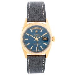 Men's Gold Rolex President Day-Date on a Strap Watch 18238