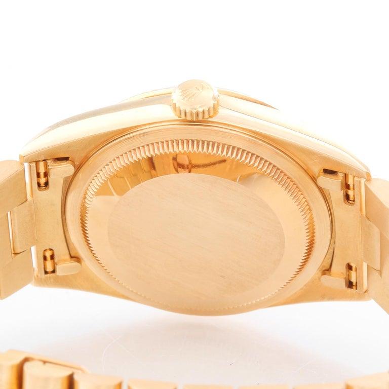 Men's Gold Rolex President Day-Date Watch 18238 For Sale 1