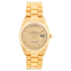 Men's Gold Rolex President Day-Date Watch 18238