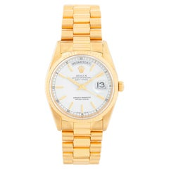 Men's Gold Rolex President Day-Date Watch 18238