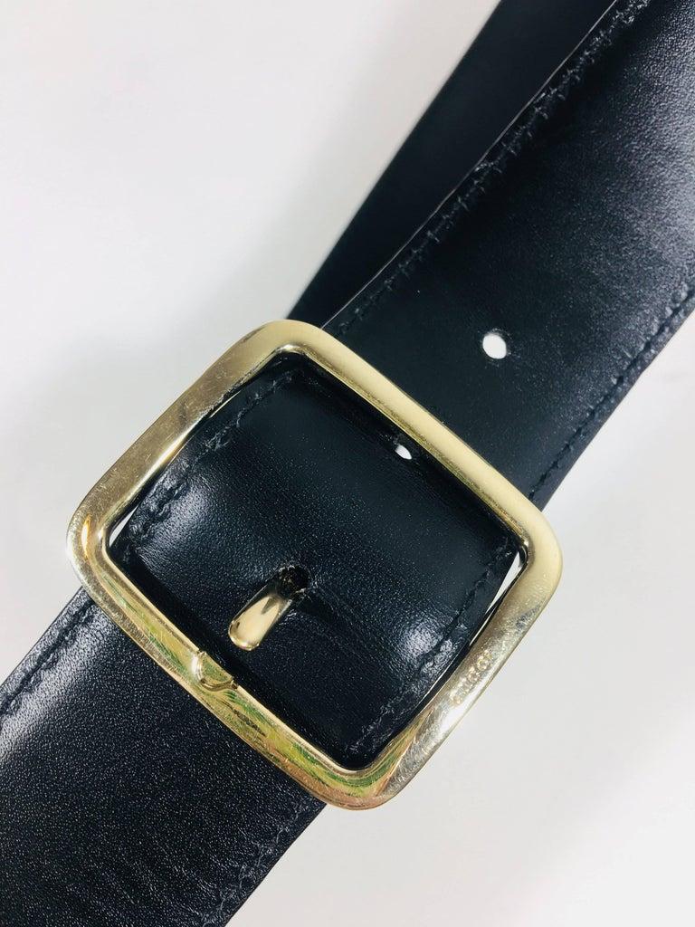 Black Mens Gucci Belt For Sale