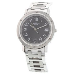 Men's Hermes Clipper Stainless Steel Watch CL6.710