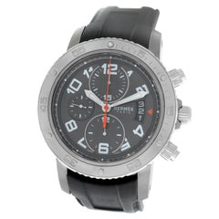 Men's Hermes Clipper Titanium Chronograph Automatic Watch