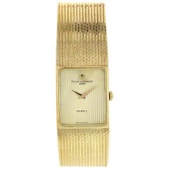 Men's Ladies Vintage Baume Mercier Quartz 14 Karat Yellow Gold Ref. 97251/9