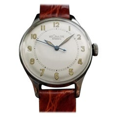 Men's LeCoultre Vintage cal.12A Automatic Field Watch circa 1950s Swiss LV834BRN