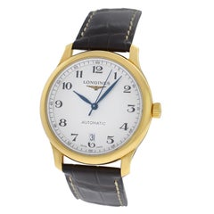 Men's Longines Master Collection Automatic 18 Karat Gold Watch