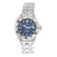 Men's Midsize Omega Seamaster 2562.80 James Bond Date Quartz Watch