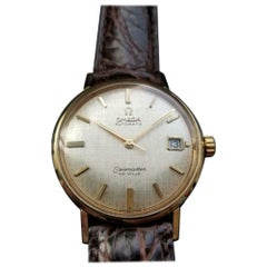 Men's Omega 14k Gold Seamaster DeVille cal.563 Automatic with Date, c.1967 LV340