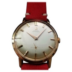Men's Omega 18 Karat Rose Gold cal.491 Automatic Dress Watch, Swiss LV636RED