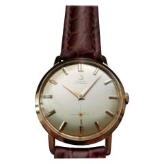 Men's Omega 18k Gold Ref.2897-3 Automatic Dress Watch, circa 1960s Swiss LV636