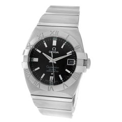 Men's Omega Constellation Double Eagle Co, Axial Chronometer Steel Watch
