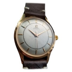 Mens Omega Ref.2584 18k Rose Gold Automatic Dress Watch, c.1940s LV949