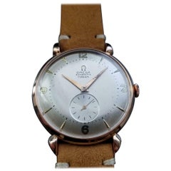 Men's Omega Rose Gold-Plated Ref.2482 Turler Automatic Vintage LV816TAN