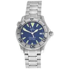 Men's Omega Seamaster 2263.80 Stainless Steel Date Quartz Watch