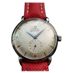 Men's Omega Seamaster Bumper Automatic Ref.2398-5, Vintage Swiss LV737RED