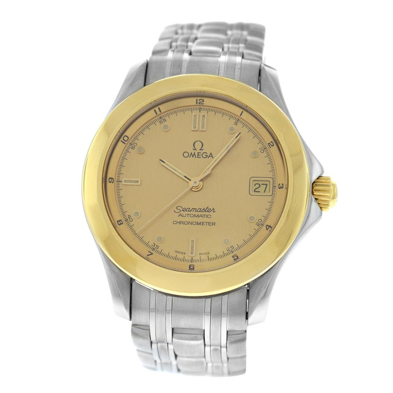 a7a285e404484 Men s Omega Seamaster Chronometer Steel Automatic Watch For Sale at ...