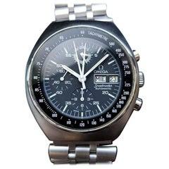 Mens Omega Speedmaster Mark 4.5 Chronograph Automatic 1980s Swiss LV289