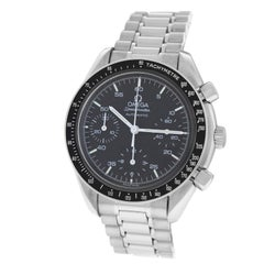 Men's Omega Speedmaster Steel Chronograph Automatic Watch