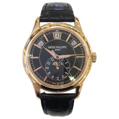 Men's Patek Philippe Complications Watch 18 Karat Rose Gold 5205R