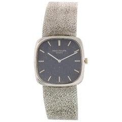 Men's Patek Philippe Ellipse 18 Karat White Gold Watch