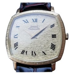 Men's Piaget 18k Solid Gold Ref.13406 Automatic Dress Watch c. 1980s Swiss MS209