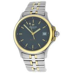 Men's Raymond Weil Parsifal 9090 Stainless Steel Gold Quartz Watch