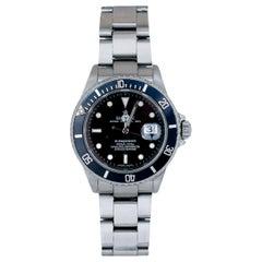 Men's Rolex 16610 Submariner, circa 2000