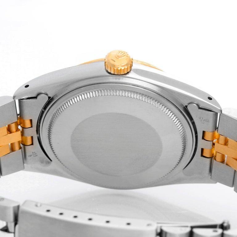 Men's Rolex Datejust 2-Tone Watch 16013 For Sale 1