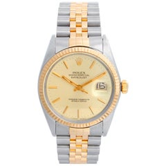 Men's Rolex Datejust 2-Tone Watch 16013