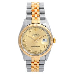 Men's Rolex Datejust 2-Tone Watch 16103