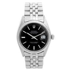 Men's Rolex Datejust Stainless Steel Watch 1601
