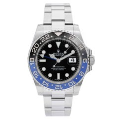 Rolex Stainless steel GMT-Master II Automatic Wristwatch
