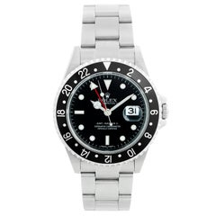 Men's Rolex GMT-Master II Watch 16710 Error Dial