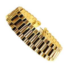 Men's Rolex Link Bracelet 18 Karat