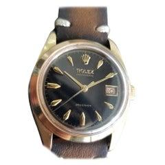 Mens Rolex OysteDate Precision 6494 Gold-Capped Hand-Wind, c.1950s MA199