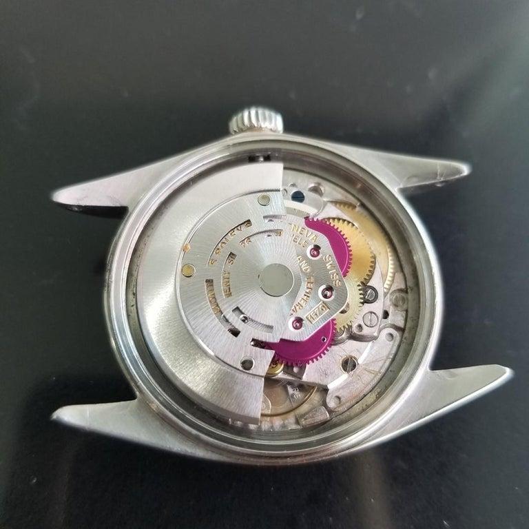 Men's Rolex Oyster Datejust Ref.1601 Automatic, c.1960s Swiss Vitnage RA131 7