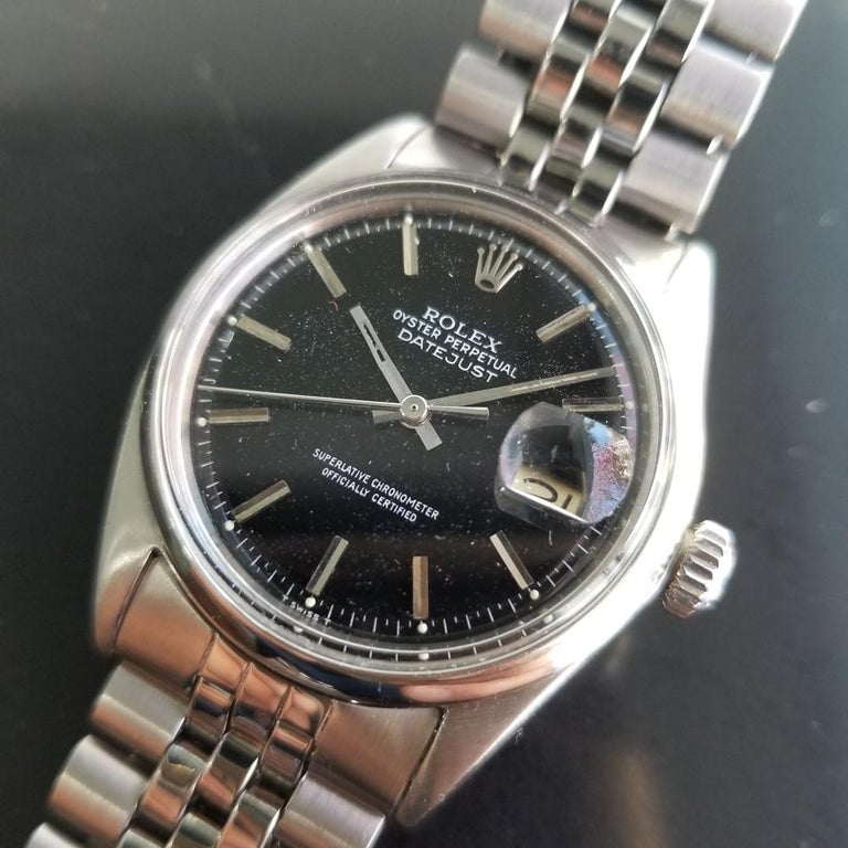 Men's Rolex Oyster Datejust Ref.1601 Automatic, c.1960s Swiss Vitnage RA131 1