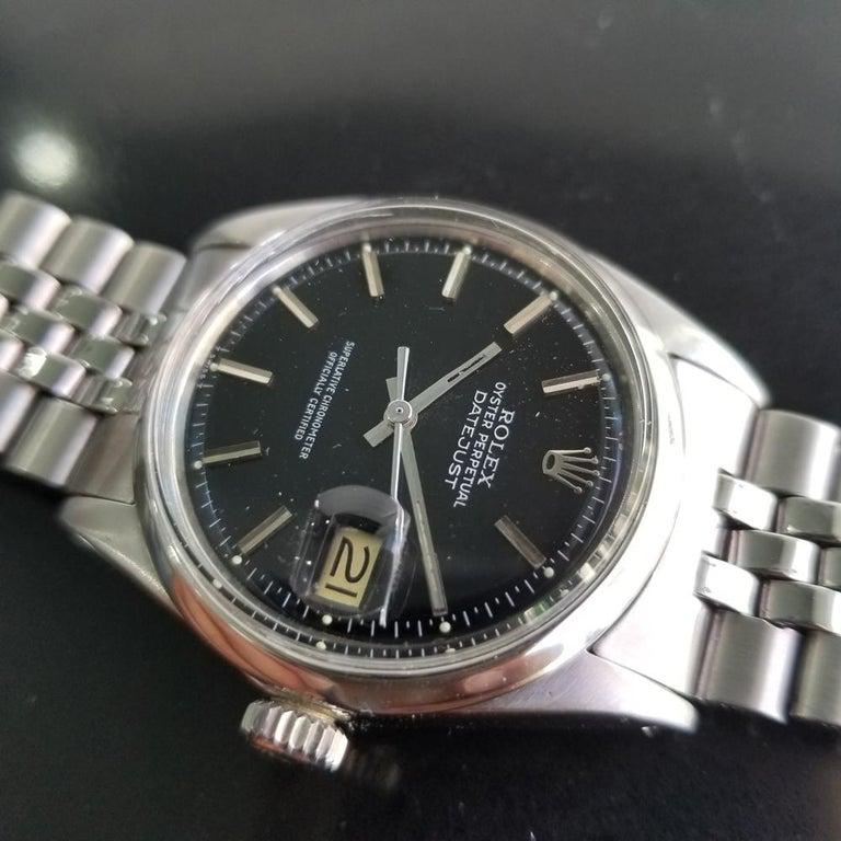 Men's Rolex Oyster Datejust Ref.1601 Automatic, c.1960s Swiss Vitnage RA131 2