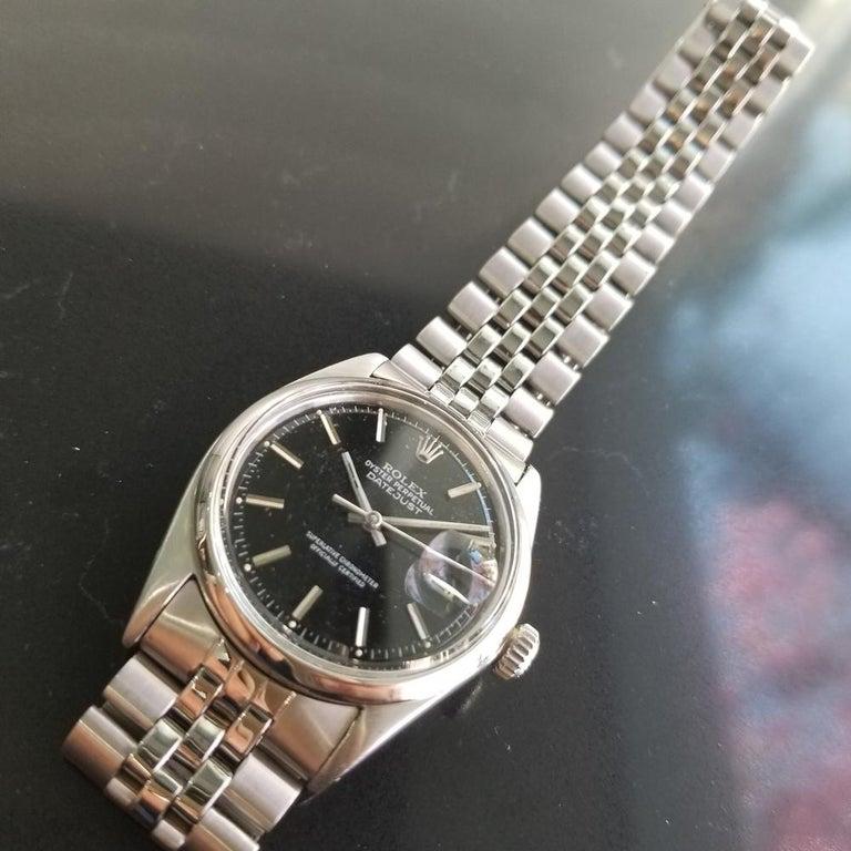 Men's Rolex Oyster Datejust Ref.1601 Automatic, c.1960s Swiss Vitnage RA131 3