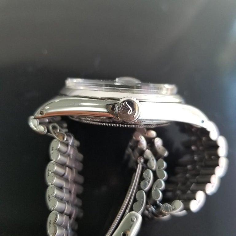 Men's Rolex Oyster Datejust Ref.1601 Automatic, c.1960s Swiss Vitnage RA131 4