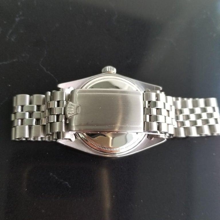 Men's Rolex Oyster Datejust Ref.1601 Automatic, c.1960s Swiss Vitnage RA131 5