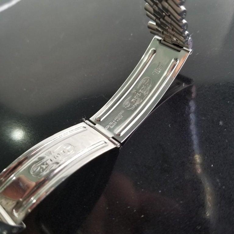 Men's Rolex Oyster Datejust Ref.1601 Automatic, c.1960s Swiss Vitnage RA131 6