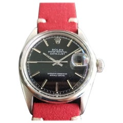 Mens Rolex Oyster Datejust Ref.1601 Automatic, c.1960s Vintage RA131RED